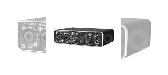 Аудио интерфейс behringer UMC202HD (новый)