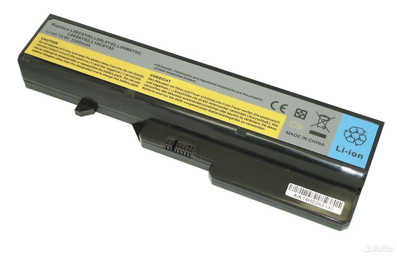 Аккумулятор Lenovo L09M6Y02 G460 Z560 5200mAh