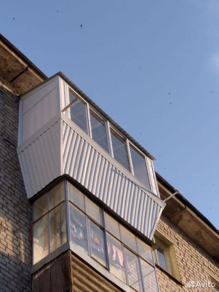 Остекление балконов и лоджий  89174095022 купить 5