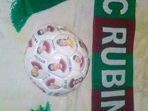 """Футбольный мяч """"FC rubin"""" с изображением игроков и"""