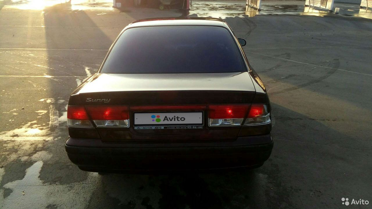 Nissan Sunny, 1999  89090541865 купить 7