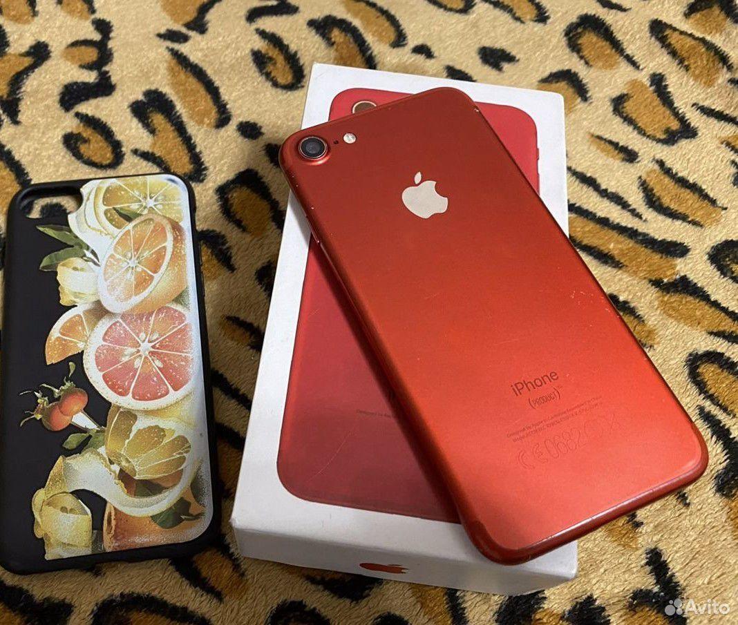 Айфон 7 32гб красный