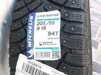 Новые Michelin x-ice north 4 205/55 16