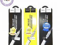 USB кабель hoco Original Zinc Alloy U10