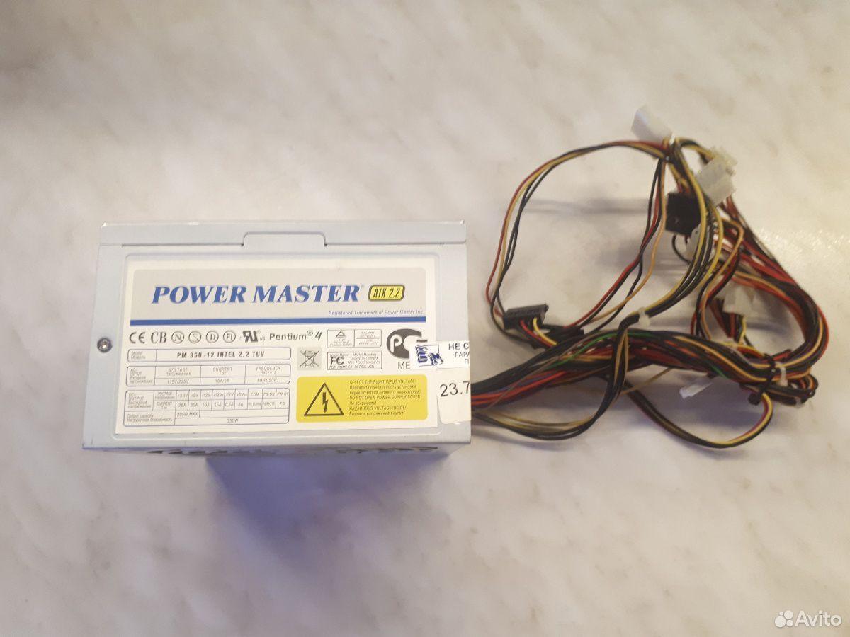 Блок питания Power Master ATX 2.2 350W