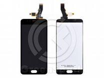 Дисплей для Meizu M5S +тач черный