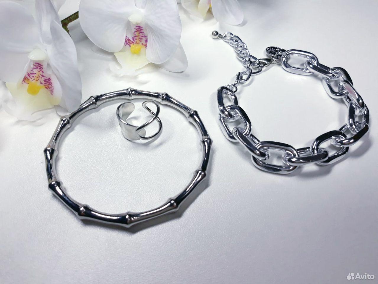 Комплект браслеты и кольцо  89503364820 купить 4