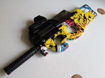 Игрушечный автомат CS GO P90 Graffiti