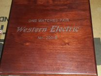 Audio Note Meishu Line с Western Electric 300B